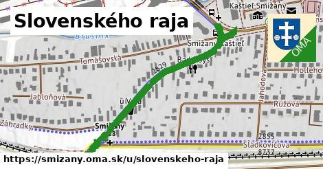 ilustrácia k Slovenského raja, Smižany - 525m
