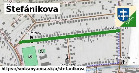ilustrácia k Štefánikova, Smižany - 543m