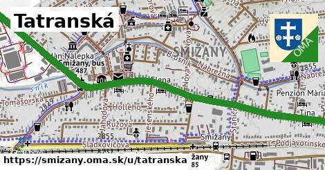 ilustrácia k Tatranská, Smižany - 1,79km