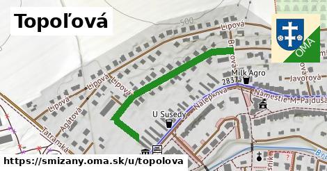 ilustrácia k Topoľová, Smižany - 396m