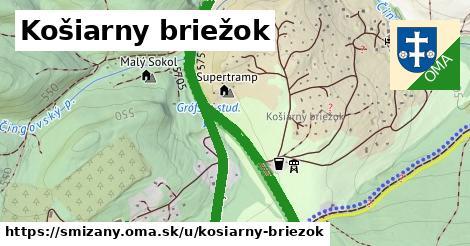 ilustrácia k Košiarny briežok, Smižany - 2,9km