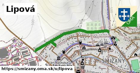 ilustrácia k Lipová, Smižany - 0,92km