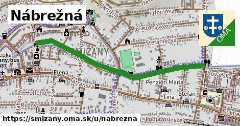 ilustrácia k Nábrežná, Smižany - 1,09km