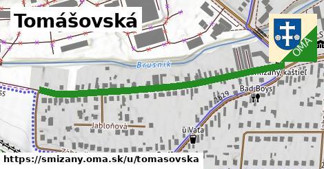 ilustrácia k Tomášovská, Smižany - 567m