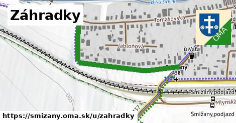 ilustrácia k Záhradky, Smižany - 445m
