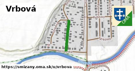 ilustrácia k Vrbová, Smižany - 165m