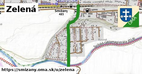 ilustrácia k Zelená, Smižany - 0,76km