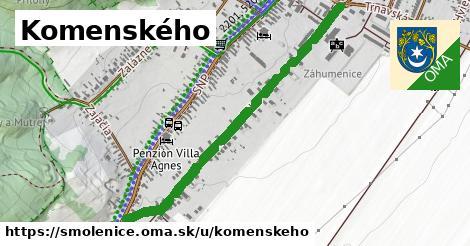 ilustrácia k Komenského, Smolenice - 1,00km