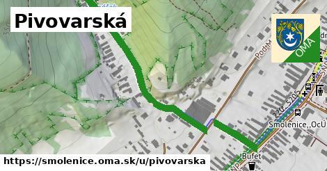 ilustrácia k Pivovarská, Smolenice - 549m