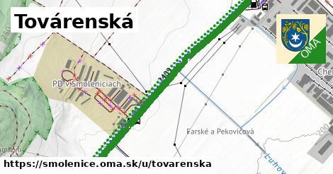 ilustrácia k Továrenská, Smolenice - 1,89km