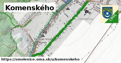 Komenského, Smolenice