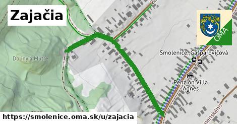 ilustrácia k Zajačia, Smolenice - 468m
