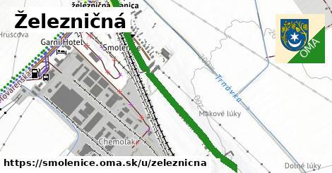 ilustrácia k Železničná, Smolenice - 247m