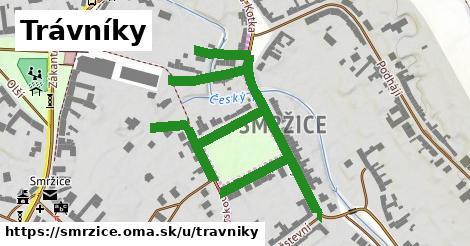 ilustrácia k Trávníky, Smržice - 0,88km