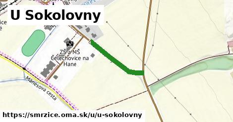 ilustrácia k U Sokolovny, Smržice - 198m