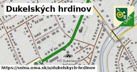 ilustrácia k Dukelských hrdinov, Snina - 432m