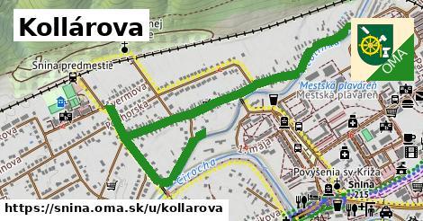 ilustrácia k Kollárova, Snina - 1,51km