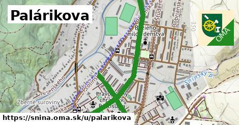 ilustrácia k Palárikova, Snina - 1,04km