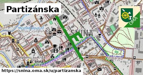 ilustrácia k Partizánska, Snina - 0,81km