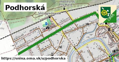 ilustrácia k Podhorská, Snina - 1,18km