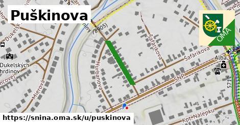 ilustrácia k Puškinova, Snina - 157m