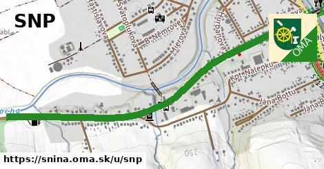ilustrácia k SNP, Snina - 1,54km