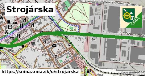 ilustrácia k Strojárska, Snina - 1,87km