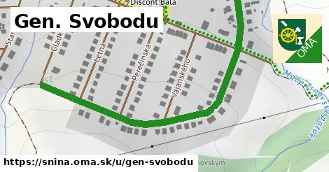 ilustrácia k Gen. Svobodu, Snina - 0,74km
