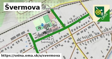 Švermova, Snina