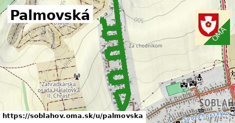 ilustrácia k Palmovská, Soblahov - 359m