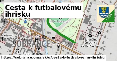 ilustračný obrázok k Cesta k futbalovému ihrisku, Sobrance