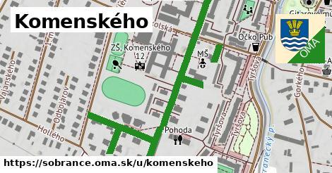 ilustračný obrázok k Komenského, Sobrance