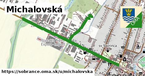 ilustračný obrázok k Michalovská, Sobrance