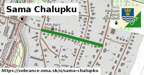 ilustrácia k Sama Chalupku, Sobrance - 329m