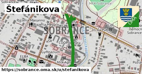 ilustrácia k Štefánikova, Sobrance - 441m