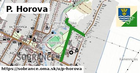 P. Horova, Sobrance