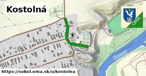 ilustrácia k Kostolná, Sokoľ - 231m