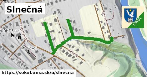 ilustrácia k Slnečná, Sokoľ - 611m