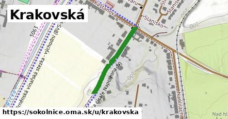 ilustrácia k Krakovská, Sokolnice - 255m