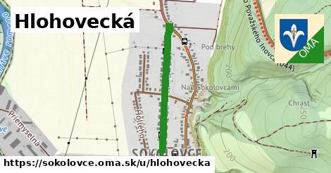 ilustrácia k Hlohovecká, Sokolovce - 583m