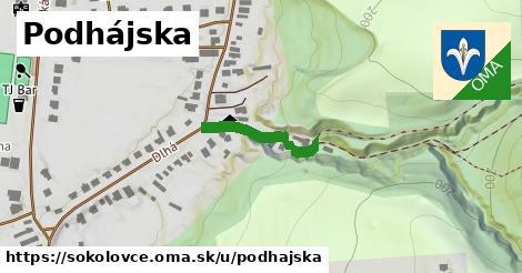ilustrácia k Podhájska, Sokolovce - 186m