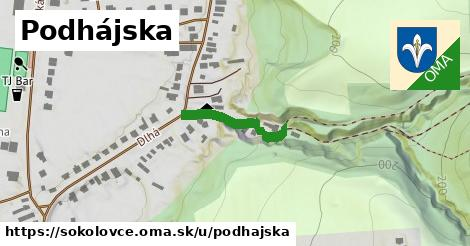 ilustračný obrázok k Podhájska, Sokolovce