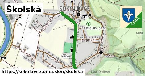 ilustračný obrázok k Školská, Sokolovce