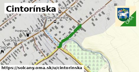 ilustrácia k Cintorínska, Solčany - 174m