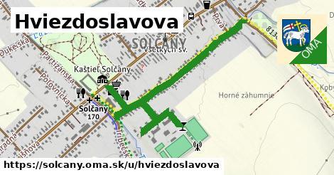 ilustrácia k Hviezdoslavova, Solčany - 0,85km