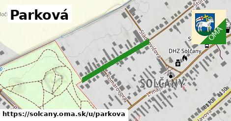 ilustrácia k Parková, Solčany - 249m