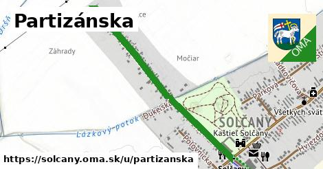 ilustračný obrázok k Partizánska, Solčany