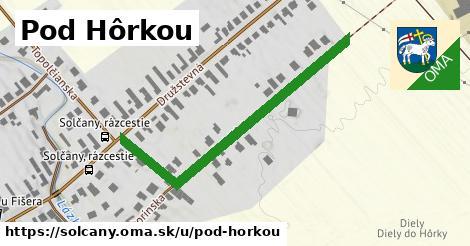 ilustrácia k Pod Hôrkou, Solčany - 472m