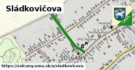 ilustrácia k Sládkovičova, Solčany - 282m