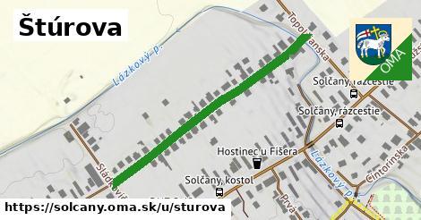 ilustrácia k Štúrova, Solčany - 434m